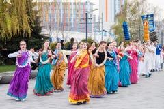 Hare Krishna Festival Arkivbilder