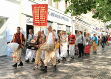 Hare Krishna Stock Photos