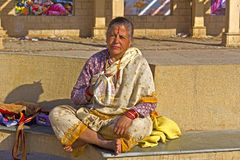 Hare Krishna japa Stock Photography