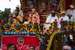 Hare Krishna Parade, Nairobi royalty free stock images