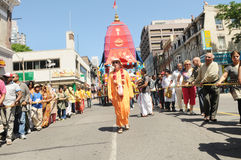 Hare Krishna Rally. Royalty Free Stock Photo