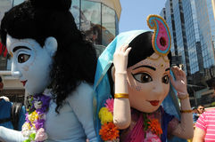 Hare Krishna Rally. Royalty Free Stock Images