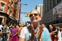Hare Krishna Rally. Stock Image