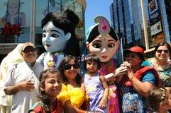 Hare Krishna Rally. Stock Photo