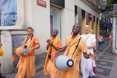 Hare Krishna Stock Images
