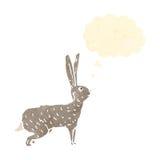 Hare retro cartoon Royalty Free Stock Photos