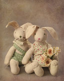 Hare toy royalty free stock photography