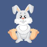Hare. Vector illustration. Royalty Free Stock Photos