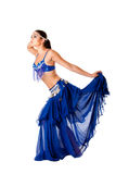 Harem belly dancer Royalty Free Stock Images