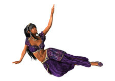 Harem Dancer Stock Photo