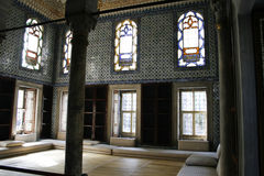 Harem dans Topkapi, Istanbul Photographie stock