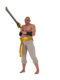 Harem eunuch  with sword Stock Image