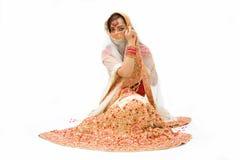 Harem girl royalty free stock photo