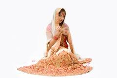Harem girl stock images