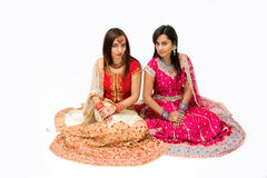 Harem girls stock photos