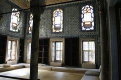 Harem i Topkapi, Istanbul Arkivbild