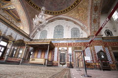 Harem of Topkapi Palace royalty free stock photo