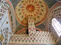 Haremowy palaceTopkapi szczegółu celling zdjęcia stock