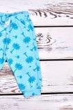 Harenes modelados azul del bebé Foto de archivo libre de regalías