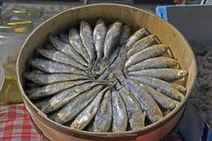 harengs salés Photo stock