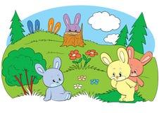 hares Stock Illustrationer