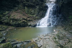 Hareshaw Linn, Northumberland Zdjęcia Royalty Free