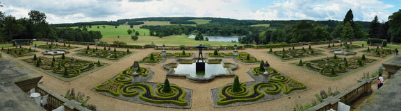 Harewood House, Leeds, West Yorkshire, UK Stock Photos
