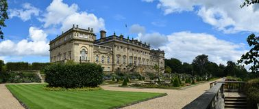 Harewood House, Leeds, West Yorkshire, UK royalty free stock images