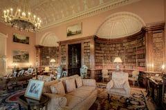 Harewood House The Main Library Royalty Free Stock Photo