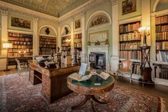 Harewood House The Old Library Royalty Free Stock Photo