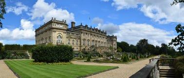 Harewood hus, Leeds som är västra - yorkshire, UK royaltyfria bilder
