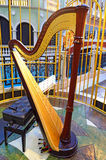 Harfa Fotografia Stock