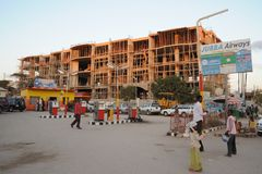 Hargeisa is a city in Somalia Royalty Free Stock Image