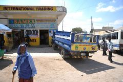 Hargeisa is a city in Somalia Stock Photography
