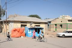 Hargeisa is a city in Somalia Royalty Free Stock Photography