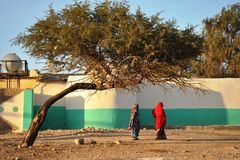 Hargeisa is a city in Somalia Stock Images