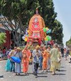 Hari feliz Krishnas Foto de archivo libre de regalías