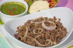 Hari Kabab是更加暴躁的kebab在世界上 免版税库存照片