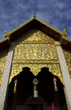 Hari Phunchai Temple, Chiangmai Thailand Stock Foto