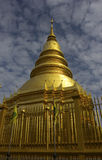 Hari Phunchai Temple, Chiangmai Thailand Stock Photography