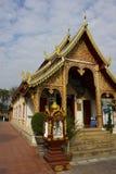 Hari Phunchai Temple, Chiangmai Thailand Stock Images