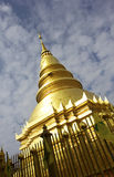 Hari Phunchai Temple, Chiangmai Thailand Royalty Free Stock Photo