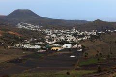 Haria Dorf Lizenzfreies Stockbild