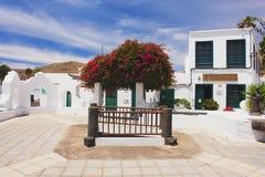 Haria, Lanzarote photo libre de droits