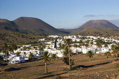 Haria, Lanzarote, Canary Islands, Spain Stock Image