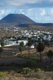 haria Lanzarote wioska Obrazy Stock