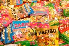 Haribo. Big pile of Haribo sweets Stock Photos