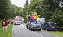 Haribo Caravan - Le Tour de France 2014 Stock Images