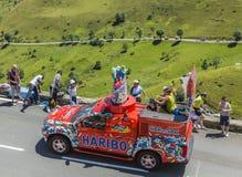 Haribo Caravan - Tour de France 2014 Stock Photos