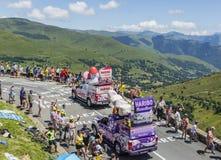 Haribo Caravan - Tour de France 2014 Stock Photography